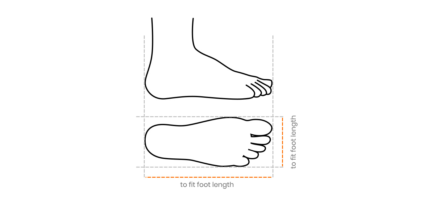 Men's Shoes Size Chart